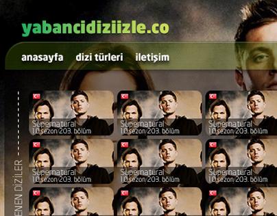 yabancidiziizle.co web design