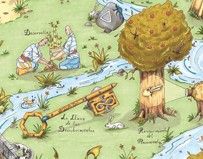 Mapa de la Metamorfosis