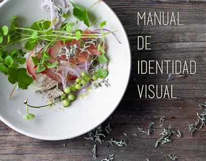 "Manual de identidad visual ""El Olivar"""