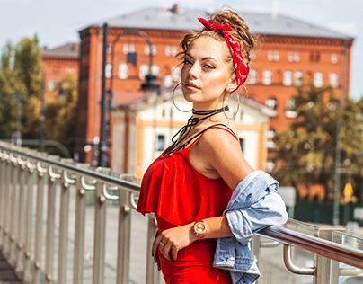 Bydgoszcz mua Jagoda Sulikowska model Paulina Otremba