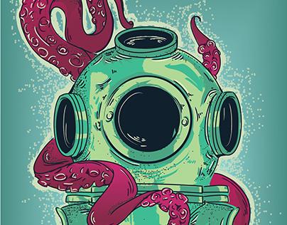 Underwater escapade