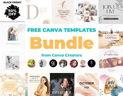 Free Canva Templates Bundle