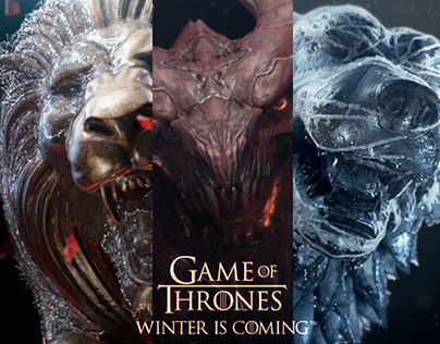 Game of Thrones Winter is Coming - Sigils