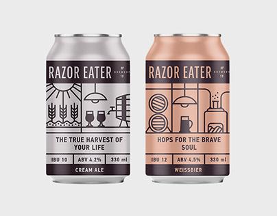 Craft Beer Package & UI/UX Design