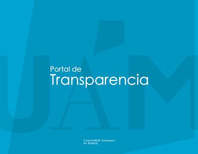 Portal Transparencia - Universidad Autónoma de Madrid