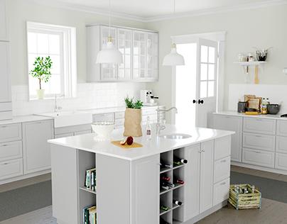 Kitchen interior by IKEA