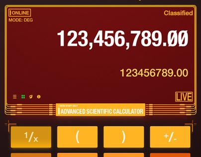 """""""我的计算器·My Calculator"""" 界面设计改造"""