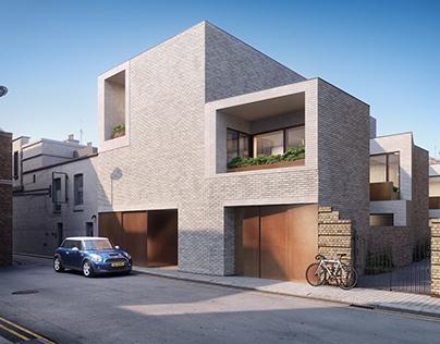 House development in London