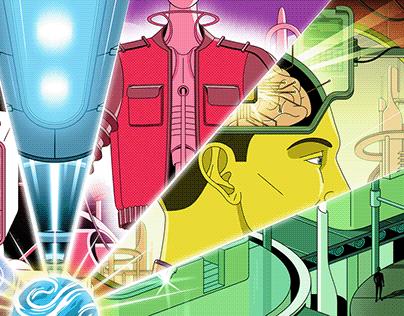 Illustrations for The Village\Technopolis