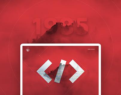 1985 - Website UI/UX Design