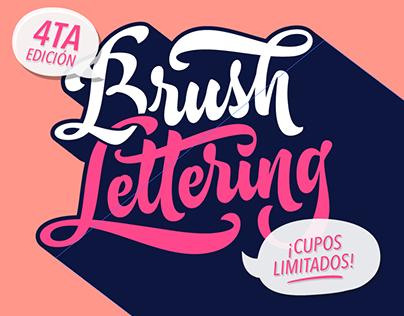 Taller de Brush Lettering en Bogotá 4ta Edición