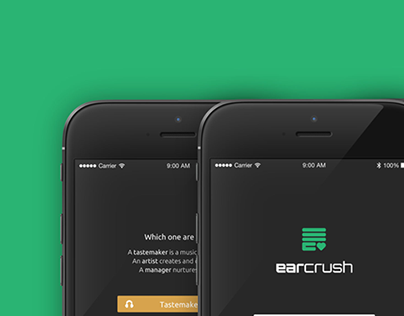 EarCrush iOS Redesign