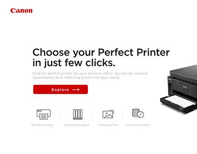 Canon Micro Website UAE