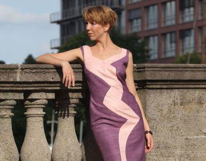 WOMAN IN A DRESS EwelineB by Ewelina Barlak
