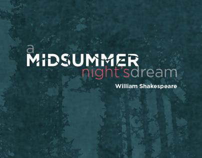 Poster Design A Midsummer Nights Dream (part 1)