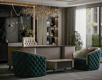 Luxury Desk Design