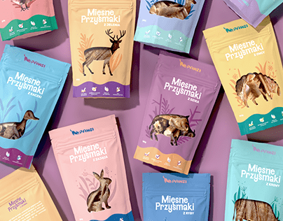 Dog treats packaging