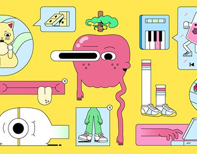 Cartoon Network. Sequencer IDs.