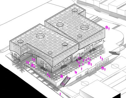 Proyecto UI Materialidad / Cubierta Metálica