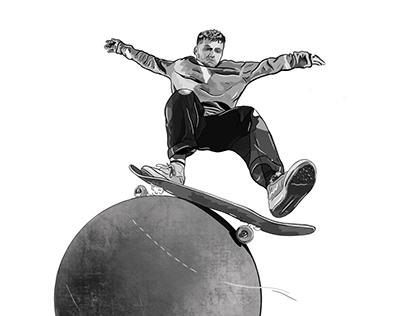 Skateboard Illustration