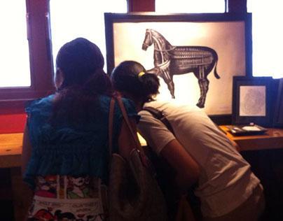 《Horse of Renaissance 文藝復興的馬》Cafe Exhibition