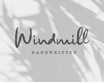 Windmill - Handwritten Fonts