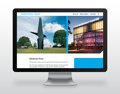 The Edmiston Trust - Website design