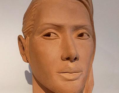 Sculpting portrait