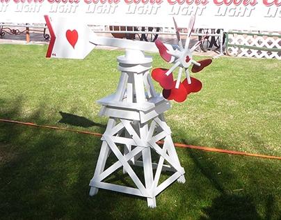 3 ft - 4 ft Windmills