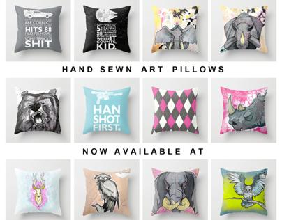 Society6 Pillows