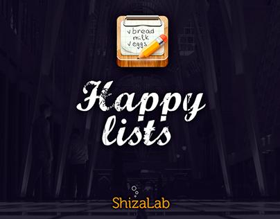 Happy Lists 2