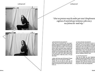 shadows. magazine