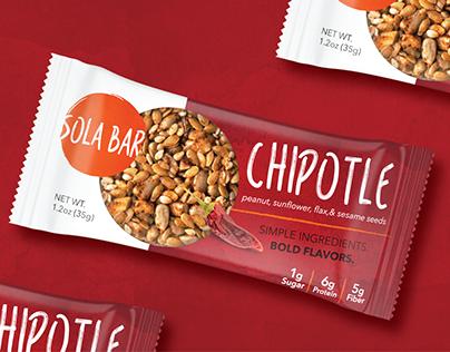 Sola Bar - Package Design