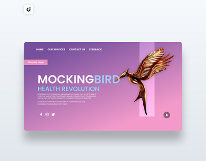 🐦 Bird Website Design