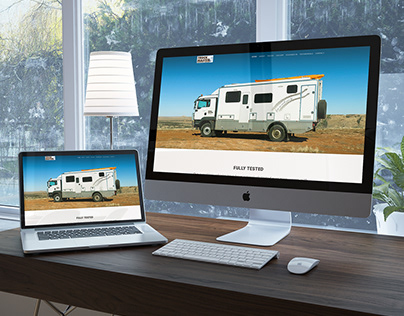 Website Design: Truck Master Expedition Vehicles