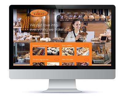 Oakwood Bakery Responsive eCommerce Web Design Project
