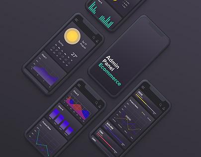 E-commerce: UI/UX Admin Dashboard Design