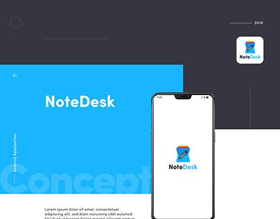 Note Desk (Reminder, Task, Own Notes App)