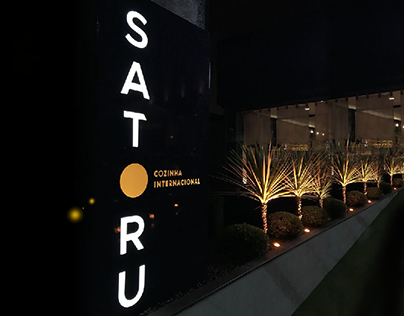 Satoru Cozinha Internacional | Identidade Visual