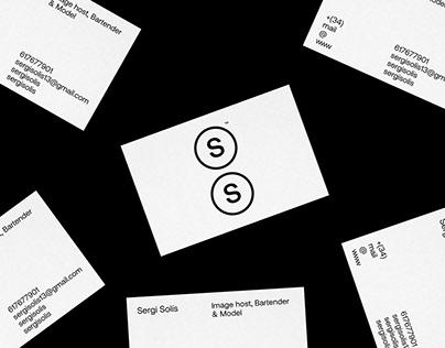 Sergi Solís - Visual Identity