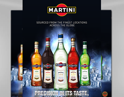 Martini Retail Product Display and Publicity Design