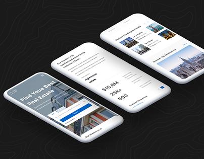 Design company website UX/UI