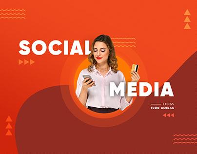 Social Media - Lojas 1000 Coisas