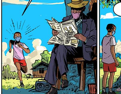 Charlie Pele - Weekly Comic strips