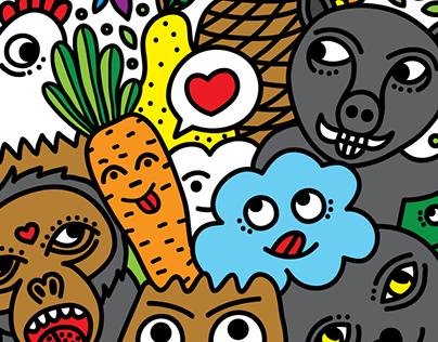 Animals Veggies