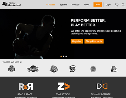 Better Basketball Web Design