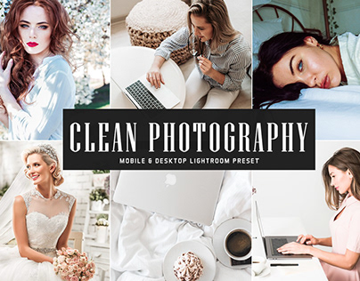 Free Clean Photography Mobile Lightroom Preset