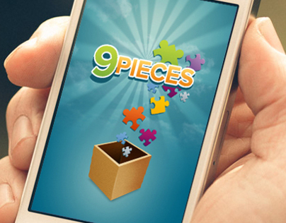 9Pieces iPhone Puzzle Game