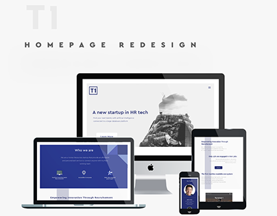 T1 Homepage Redesign