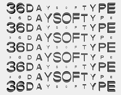 36 Days of Type | Motion Design